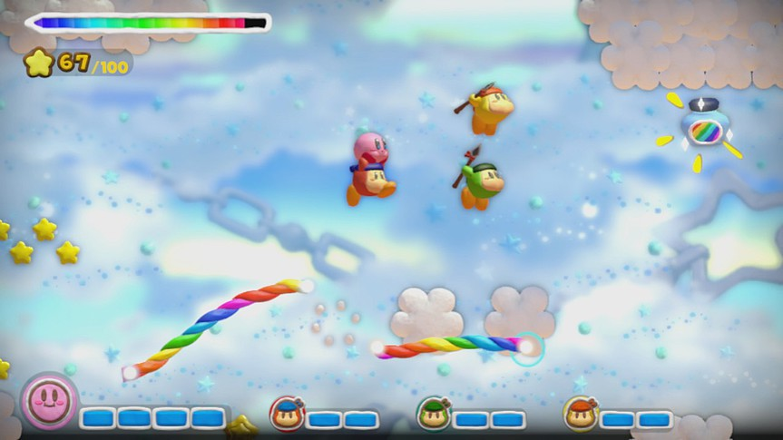 Kirby und der Regenbogen-Pinsel visited at www.games.ch